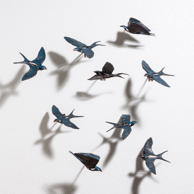 Birds on a Wall 2