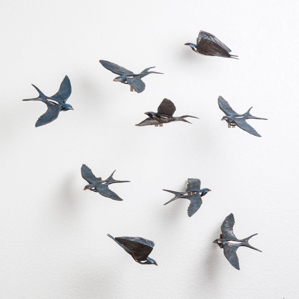 Birds on a Wall 3